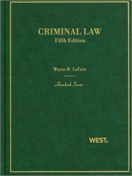 Criminal Law, 5th