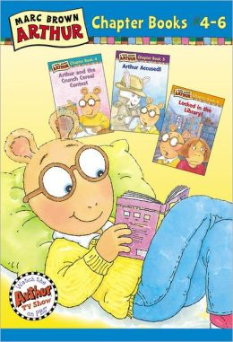 Marc Brown Arthur Chapter Books #4-6