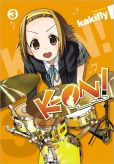 Book Cover Image. Title: K-ON!, Volume 3, Author: kakifly