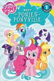 Book Cover Image. Title: My Little Pony:  Meet the Ponies of Ponyville, Author: Olivia London