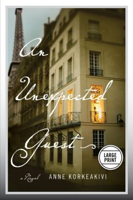An Unexpected Guest: A Novel (Large Print Edition)