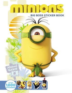 Minions: Big Boss Sticker Book