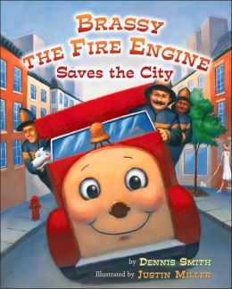 Brassy the Fire Engine Saves the City