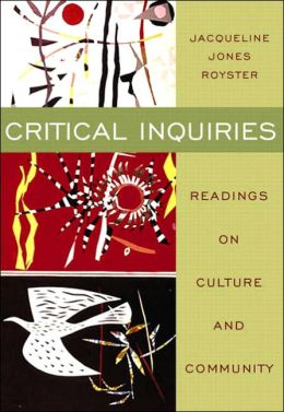 Critical Inquiries: Readings on Culture and Community