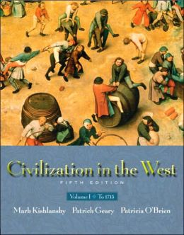 Civilization in the West, Volume I: To 1715