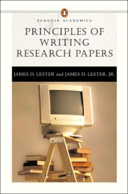 Principles of Writing Research Papers(Penguin Academics Series)