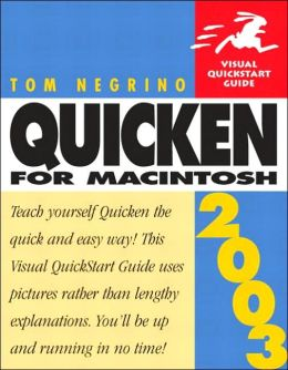 Quicken X for Macintosh: Visual QuickStart Guide