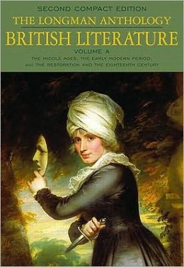 Longman Anthology of British Literature: Volume A