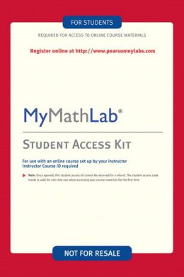 Mymathlab My Statlab Student Access Kit