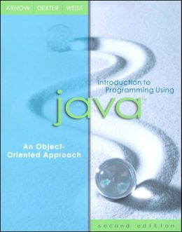 Introduction to Programming Using Java : An Object-Oriented Approach