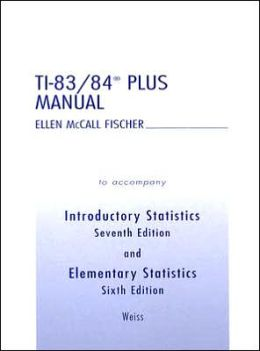 TI-83/TI-84 Plus Manual for Introductory Statistics