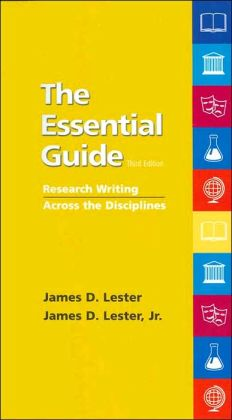 The Essential Guide: Research Writing Across the Disciplines (with Research Navigator Guide)