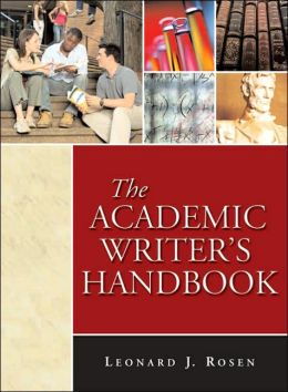 The Academic Writer's Handbook