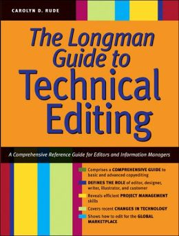 The Longman Guide to Technical Editing