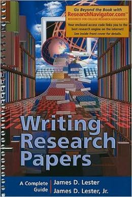 Writing Research Papers, Research Navigator Edition (spiral Bound)