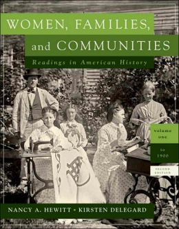 Women, Families and Communities, Volume 1