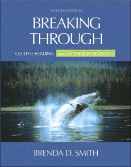 Breaking Through: College Reading with Alternate Readings