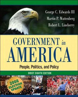 Government in America: People, Politics, and Policy, Brief Election Update