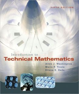 Introduction to Technical Mathematics with Mymathlab Student Access Kit
