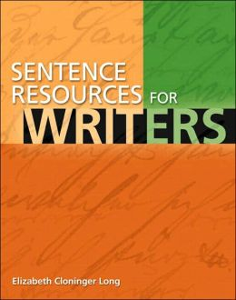 Sentence Resources for Writers [With Student Access Code Card for Mywritinglab]