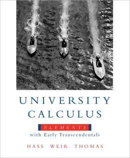 University Calculus : Elementary With Early-Package