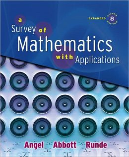 A Survey of Mathematics with Applications [With Paperback Book and Access Code]