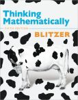 Book Cover Image. Title: Thinking Mathematically, Author: Robert F. Blitzer