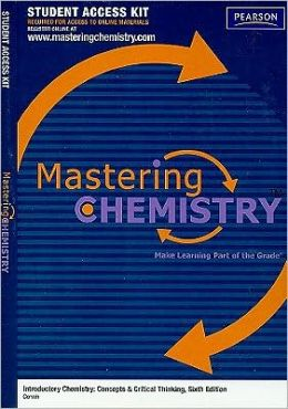 MasteringChemistry Student Access Kit for Introductory Chemistry: Concepts & Critical Thinking