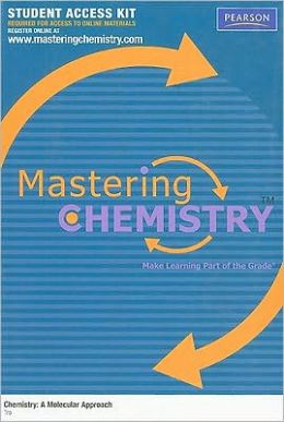 MasteringChemistry Student Access Kit for Chemistry: A Molecular Approach