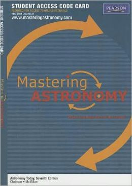 MasteringAstronomy Student Access Code Card for Astronomy Today