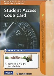 MyNutritionLab Student Access Code Card for Nutrition and You