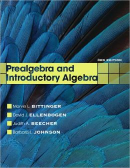 Prealgebra and Introductory Algebra