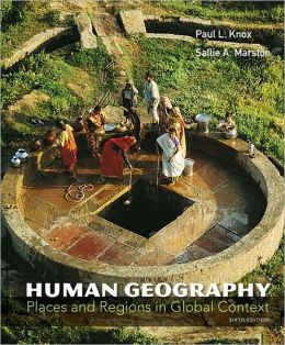 Human Geography: Places and Regions in Global Context with MasteringGeography