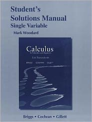 Student Solutions Manual Part for Calculus for Scientists and Engineers: Early Transcendentals, Single Variable