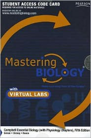 MasteringBiology with MasteringBiology Virtual Lab Full Suite -- Standalone Access Card -- for Campbell Essential Biology (with Physiology chapters)