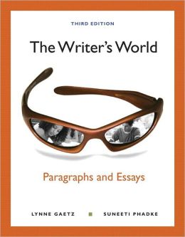 The Writer's World: Paragraphs and Essays (with NEW MyWritingLab with Pearson eText Student Access Code Card)