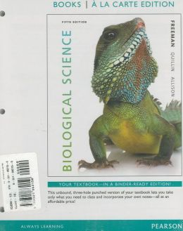 Biological Science, Books a la Carte Plus MasteringBiology with eText -- Access Card Package