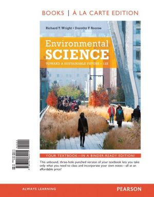 Environmental Science: Toward a Sustainable Future, Books a la Carte Edition