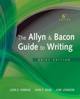 Allyn &Bacon Guide to Writing, The, Brief Edition Plus NEW MyCompLab with eText -- Access Card Package
