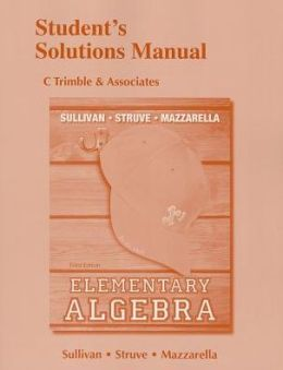 Student's Solutions Manual for Elementary Algebra
