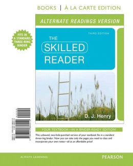 Skilled Reader, The, Alternate Edition, Books a la Carte Plus NEW MyReadingLab with eText -- Access Card Package