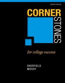 Cornerstones for College Success Plus NEW MyStudentSuccessLab 2012 Update -- Access Card Package