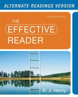 Effective Reader, The, Alternate Edition with NEW MyReadingLab with eText-- Access Card Package
