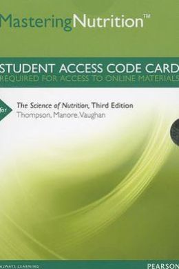 MasteringNutrition plus MyDietAnalysis -- Standalone Access Card -- for The Science of Nutrition