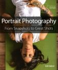 Book Cover Image. Title: Portrait Photography:  From Snapshots to Great Shots, Author: Erik Valind