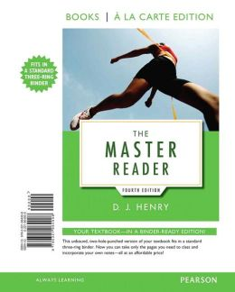 The Master Reader, Books a la Carte Edition