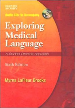 Audio CDs To Accompany Exploring Medical Language