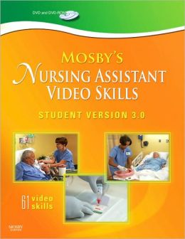 Mosby's Nursing Assistant Video Skills - Student Version DVD 3.0
