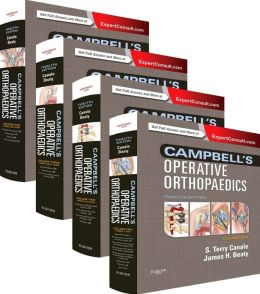 Campbell's Operative Orthopaedics: 4-Volume Set (Expert Consult Premium Edition - Enhanced Online Features and Print)