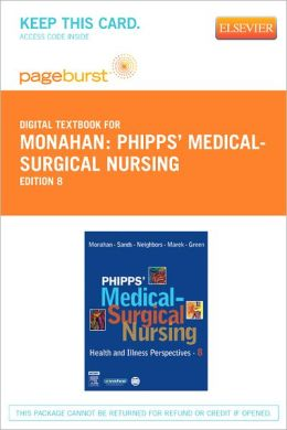 Phipps' Medical-Surgical Nursing - Pageburst Digital Book (Retail Access Card): Health and Illness Perspectives